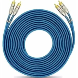 RCA Blindado Azul 5m Svart